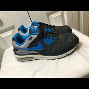 Nike Air Max black and blue size 13